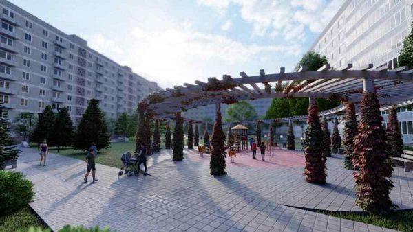 Городской голова Сергей Кузьменко показал, как будет выглядеть александрийский двор европейского уровня (ЭСКИЗЫ)