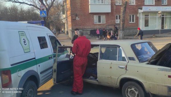В Александрии инкассаторская машина столкнулась с «Жигулями» (ФОТО)