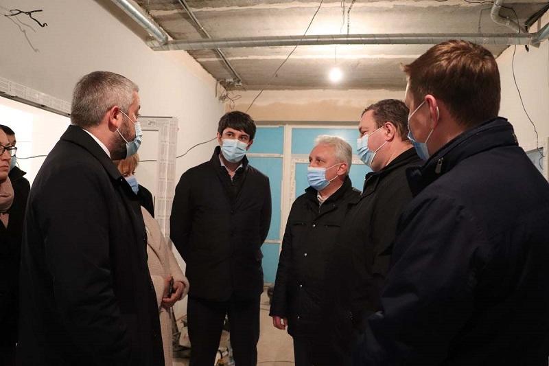 Новое приемное отделение Центральной городской больницы планируют ввести в эксплуатацию в апреле
