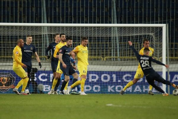 «Александрия» вошла в полуфинал Кубка Украины по футболу