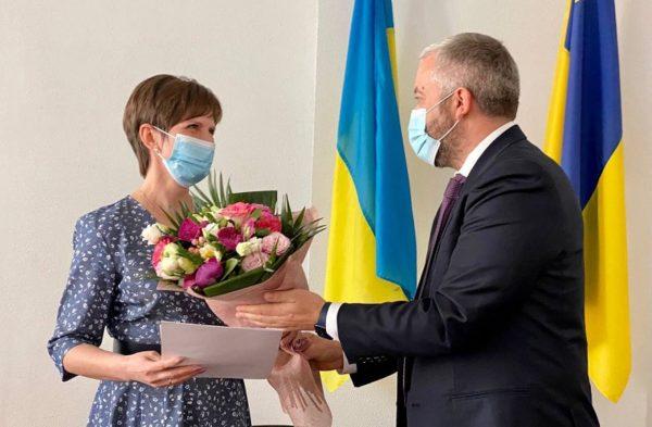 Андрей Назаренко представил нового голову Александрийской районной государственной администрации