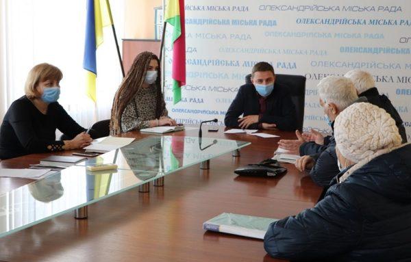 Первый заместитель городского головы Юрий Гугленко провел прием граждан по личным вопросам