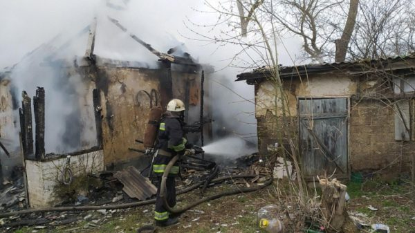 За сутки в Александрии и районе произошло три пожара (ФОТО)