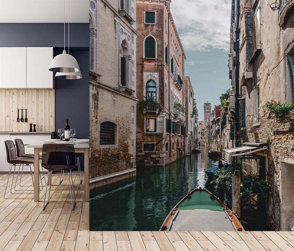Фотообои Города в интерьере