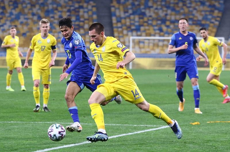 Украина не смогла обыграть Казахстан