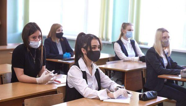 Александрийские школьники возвращаются с дистанционного обучения в школу