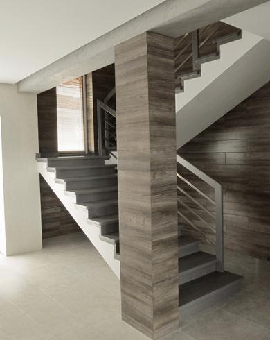 лестница в индивидуальном дизайне