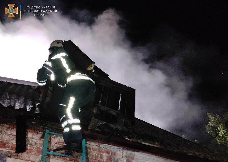 В Александрии и районе за сутки спасатели потушили 4 пожара (ФОТО)