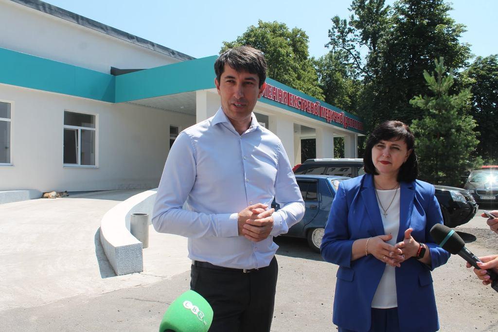 Голова Кировоградской ОГА Мария Черная с рабочим визитом посетила Александрию (ФОТО)