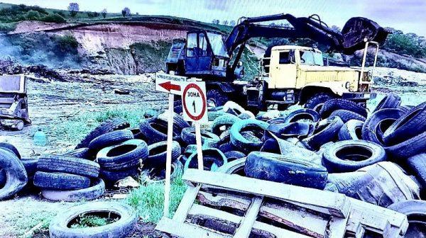 Предприятие, которое обслуживало городскую свалку Александрии, нанесло вред окружающей среде на 2 млн. грн