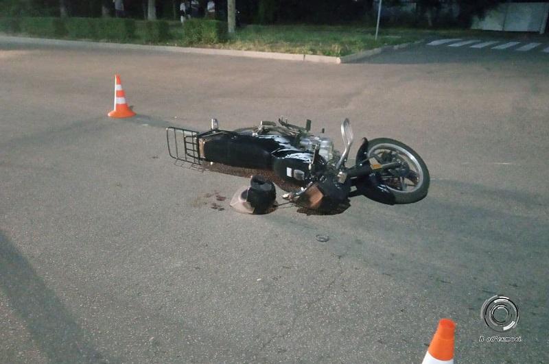 В Александрии в ДТП пострадал водитель скутера (ФОТО)
