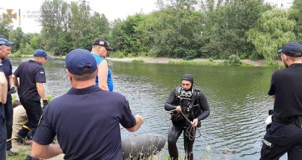 В Кировоградской области спасатели достали из реки тело 39-летнего мужчины