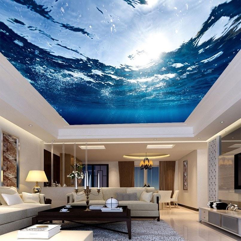 Встроенный фигурный потолок