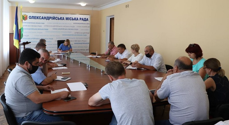 В Александрии рабочая группа обсудила мероприятия ко Дню Государственного Флага и Дня Независимости Украины