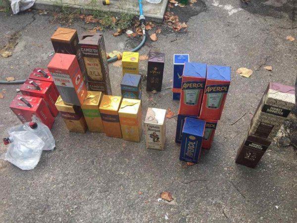 В Кировоградской области изъяли более 1 000 литров фальсифицированного алкоголя