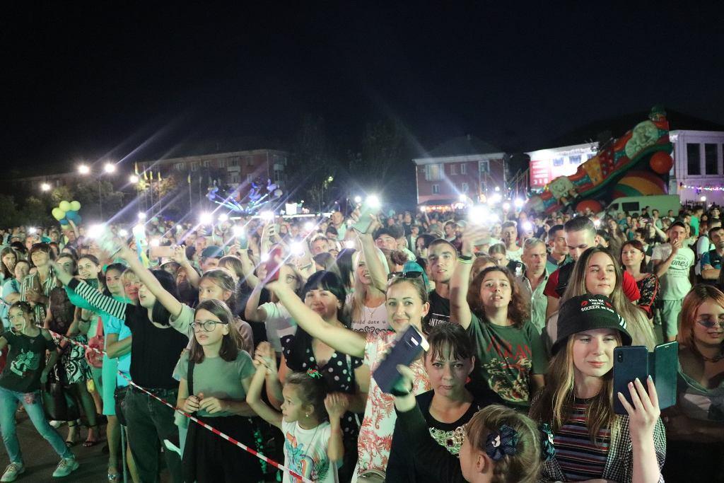Александрия отметила День Независимости Украины