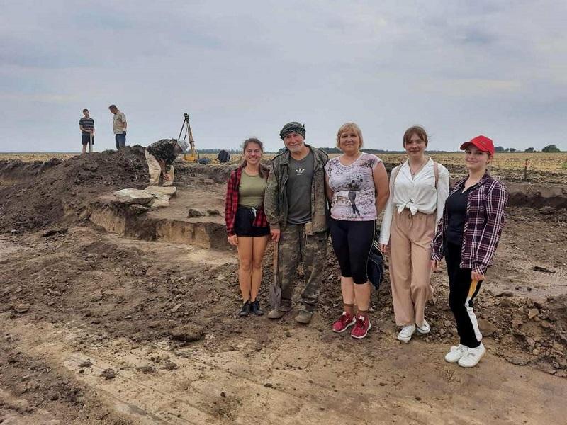 В Александрийском районе обнаружили захоронение киммерийца, датированное первым тысячелетием до нашей эры (ФОТО)
