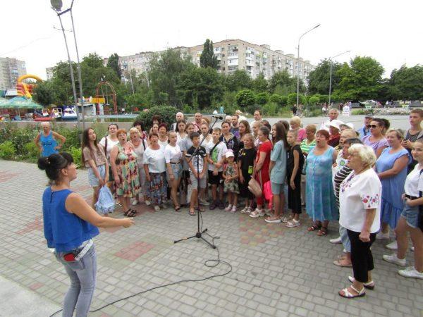 Александрийцев приглашают поучаствовать в рекорде Украины, спев Гимн