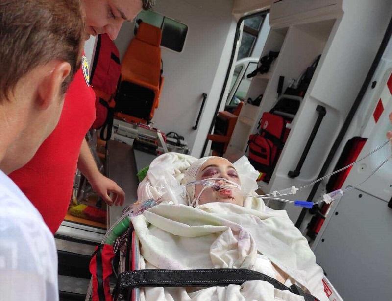 17-летнюю александрийку, которая пострадала в ДТП, перевезли в Полтавскую областную больницу (ФОТО)