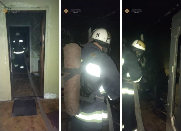 В субботу в Александрии во время пожара спасли двух женщин