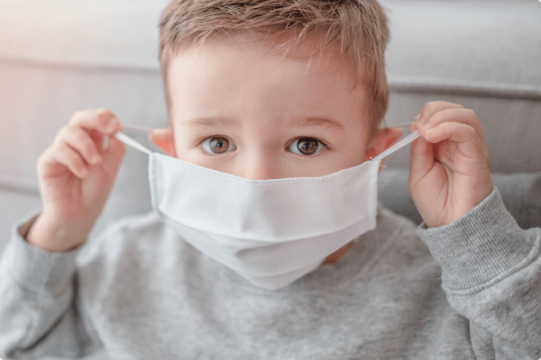 В Александрии коронавирусом болеет 5 детей