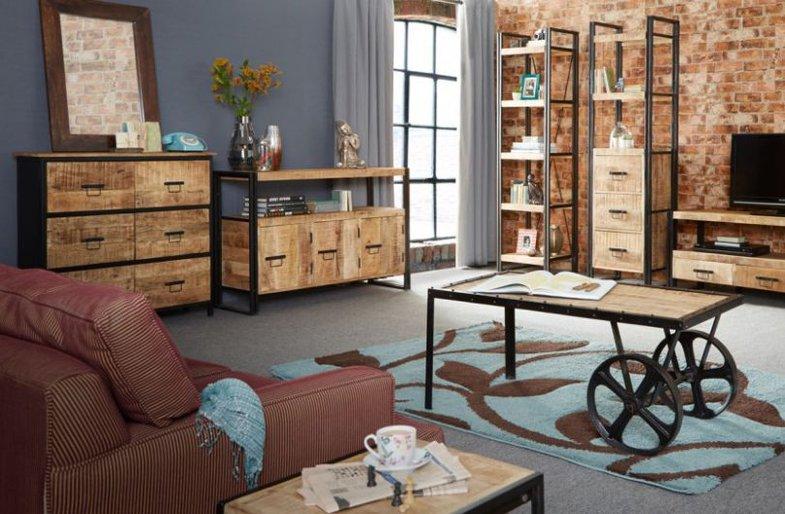 Что нужно знать о мебели в стиле лофт