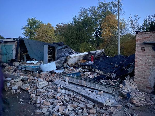 В гаражном кооперативе Александрии сгорели сразу три гаража